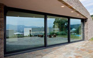 grande baie vitrée