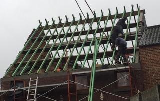 Réalisation de charpente toiture