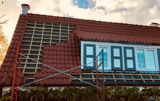 Couverture de toiture tuiles
