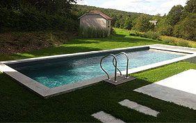 piscine enterrée en béton