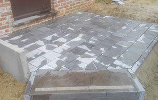 réalisation terrasse en pierre