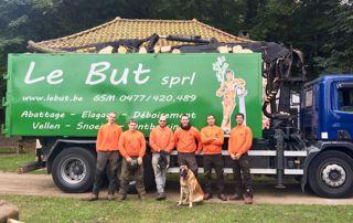 équipe arboristes de Le But