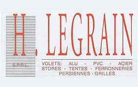 logo Legrain - volets acier, alu, PVC