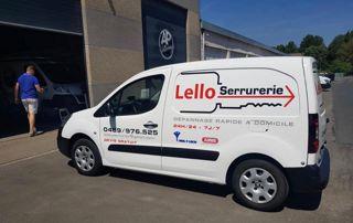 camionnette Lello Serrurier