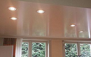 Lumières LED plafond