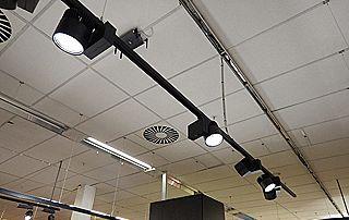 electricité lampes plafond