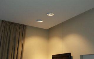 Lumières tamisées plafond