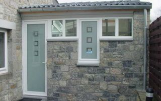 porte et fenêtre pvc blanc