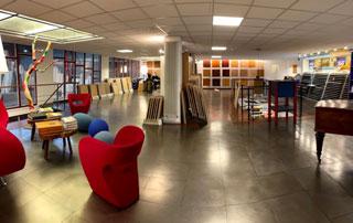 showroom Lochten & Germeau à Bruxelles