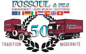 Logo Fossoul, déménageur depuis 50 ans