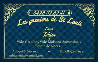Logo Les greniers de St Louis