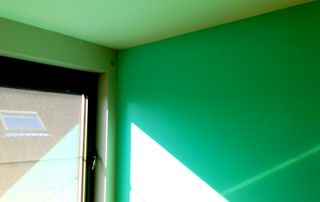 peinture intérieure vert