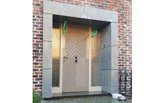 seuil en pierre porte extérieure