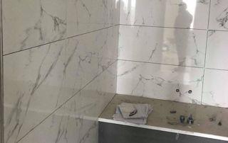 carrelage en marbre salle de bain