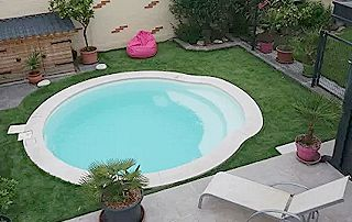 piscine coque ronde