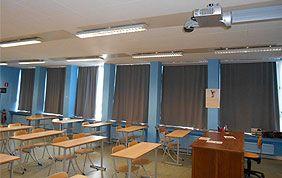 stores pour salle de classe