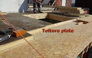 réalisation toiture plate
