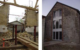 travaux de rénovation avant après