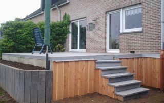 aménagement terrasse en bois