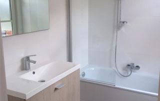 salle de bain à Wavre