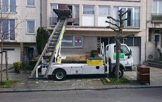 déménagement avec camion lift