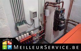 installation d'un système de chauffage
