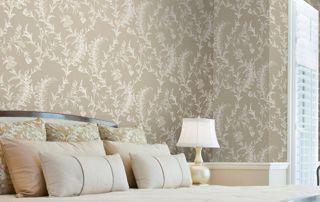 papier peint à motifs chambre à coucher