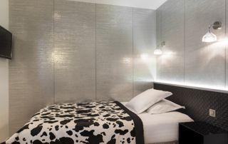 papier peint intissé chambre à coucher