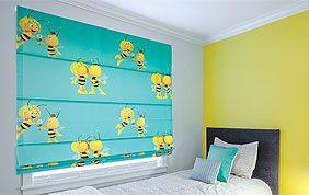 Chambre d'enfant aux couleurs vives