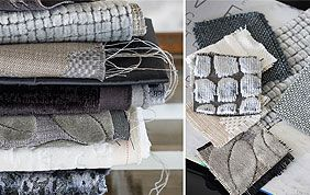échantillons de tissus pour rideaux
