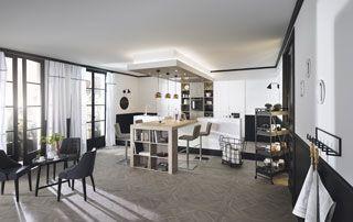 espace cuisine et salle à manger