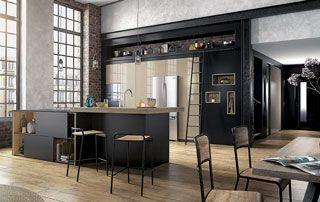 cuisine décoration industrielle