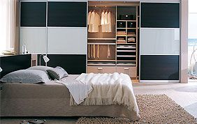 placard à portes coulissantes chambre à coucher