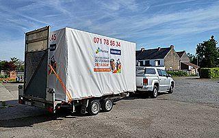 camion monbox pour enlèvement biens à domicile