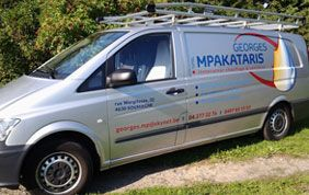 camionnette Georges Mpakataris