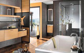 installation de nouvelle salle de bain