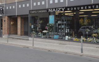 magasin d'articles funéraires Naizy