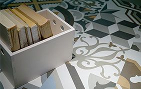 carrelage marocain à motifs