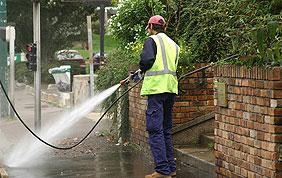 Nettoyage extérieur haute pression