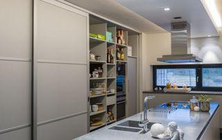 grand meuble de rangement pour cuisine