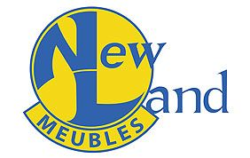 Logo de New Land Meubles, literie Namur
