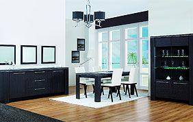 Buffet et étagère de salle à manger