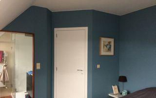 peinture chambre bleu eau