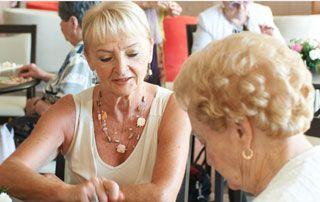 accueil en maison de retraite