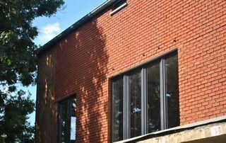 fenêtre avec profilé PVC