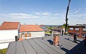 plateforme en roofing