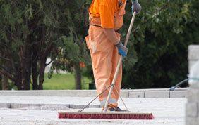Balayeur pour nettoyage extérieur