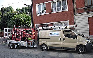 camionnette Oli Services à Liège
