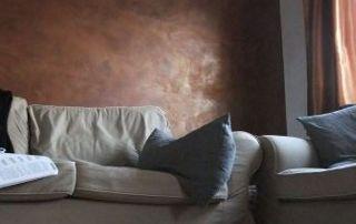 Canapé et coussins