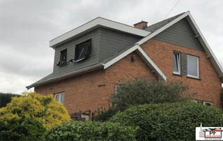 toiture à Schaerbeek